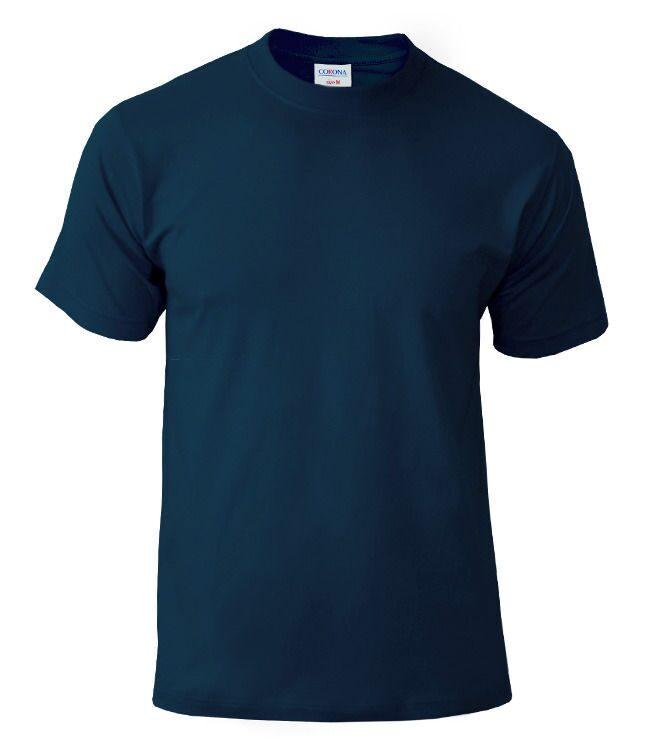 синяя футболка печать